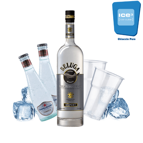Beluga - Vodka Tonic Kit - per 10 persone