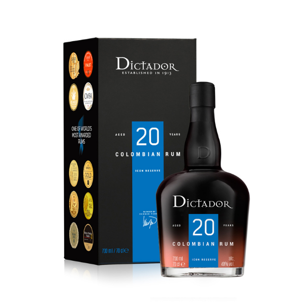 Dictador Rum 20 Years (70 cl)