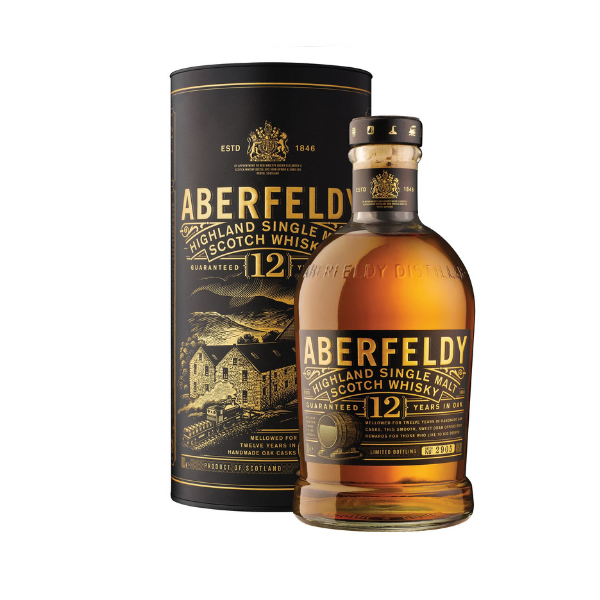 Whisky Single Malt Aberfeldy 12 Anni (70 cl)