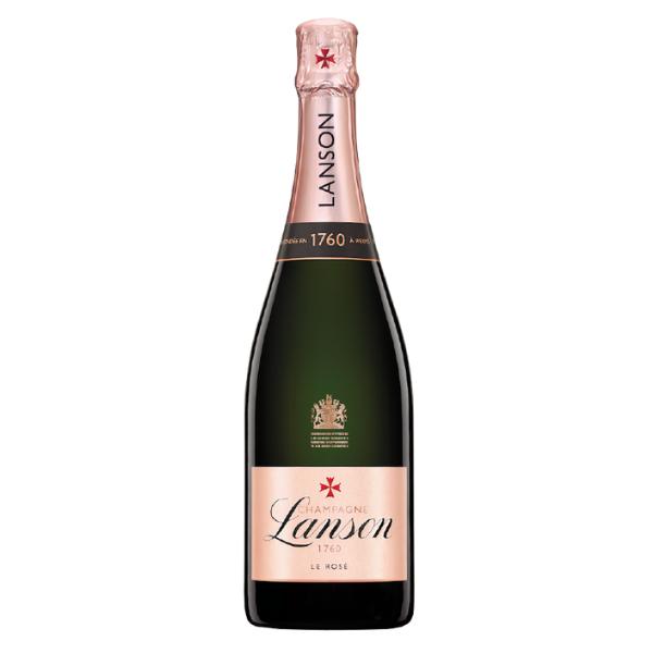 Champagne AOC Rosé Label Brut