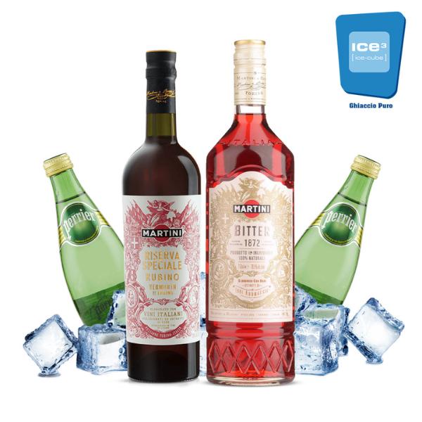 Bitter Riserva Speciale - Americano Cocktail Kit - per 10 persone