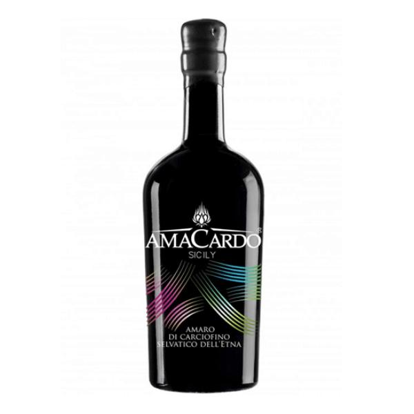Amaro di Carciofino selvatico dell'Etna Amacardo Black (50 cl)