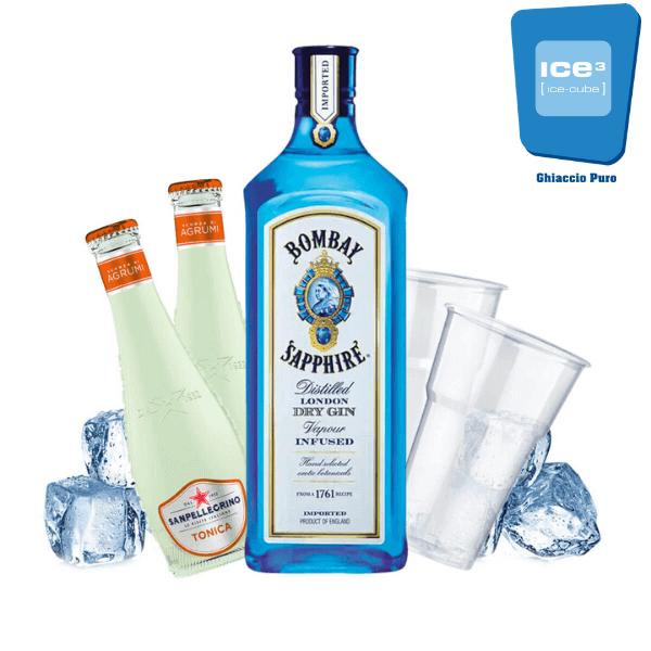 Sanpellegrino Slow Collins Gin Tonic Kit - per 10 persone