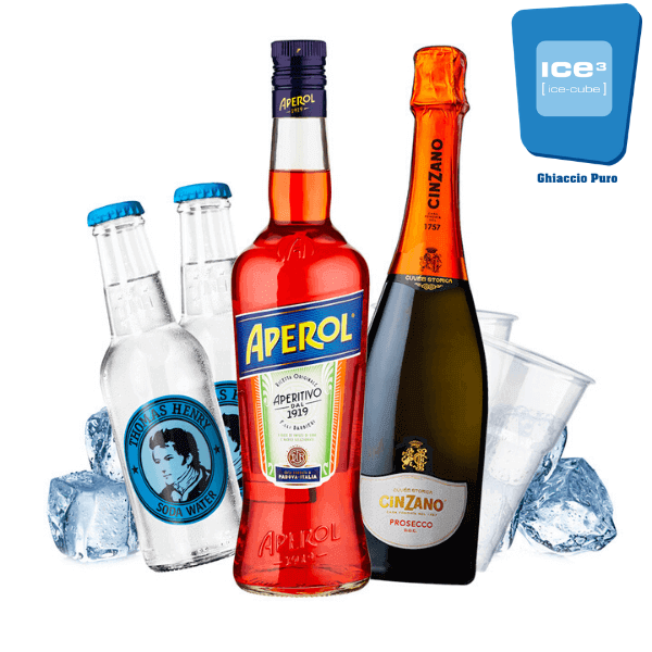 Aperol - Spritz Cocktail Kit - per 10 persone