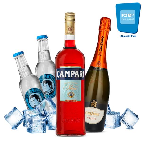 Campari - Spritz Cocktail Kit - per 10 persone