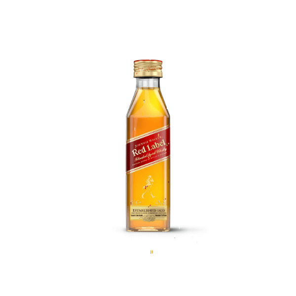 "Johnnie Walker ""Red Label"" Old Scotch Whisky Mignon (5 cl)"
