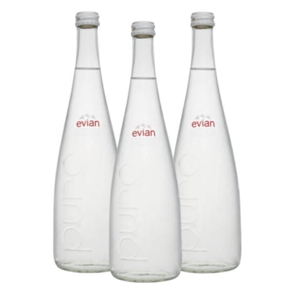 Acqua Naturale Evian (75 cl) 3 pezzi