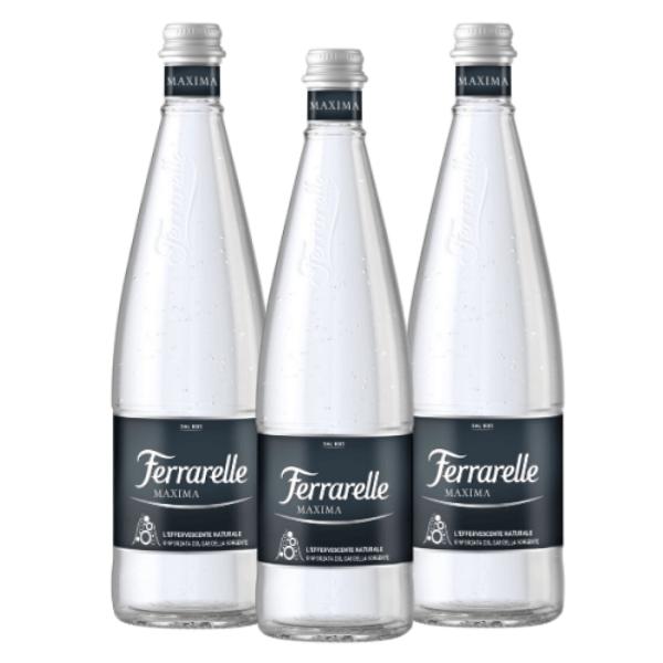 Acqua Frizzante Ferrarelle Maxima (75 cl) 3 pezzi