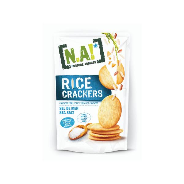 Crackers di Riso Sottili al Sale Marino (70 g)