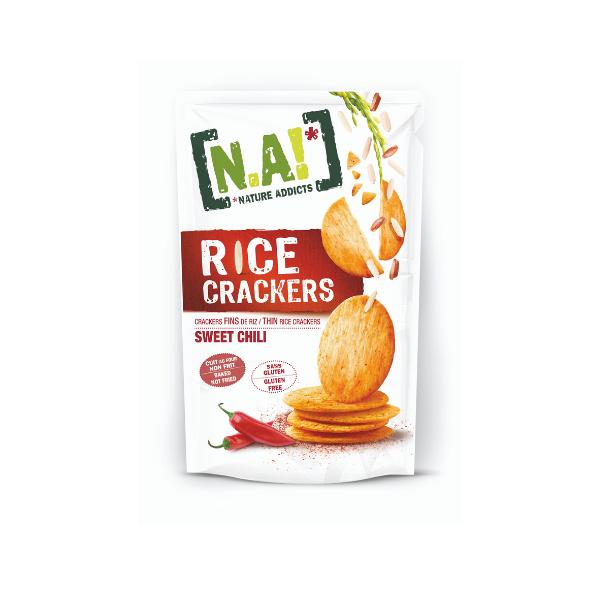 Crackers di Riso Sottili al Chili (70 g)