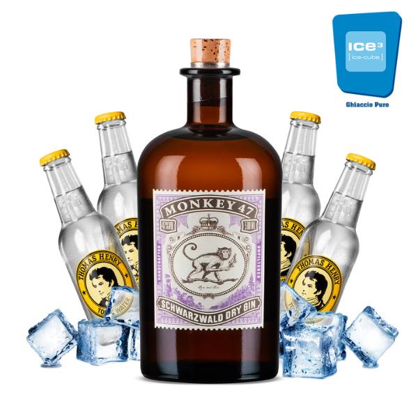 Monkey - Gin Tonic Kit - per 10 persone