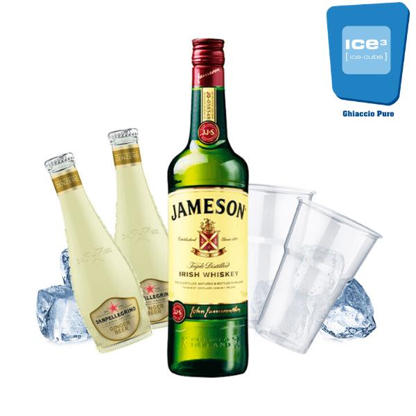 Jameson e Ginger Beer Kit - per 10 persone