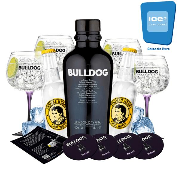 Bulldog - Gin Tonic Kit - per 10 persone