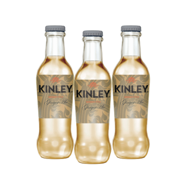Kinley Ginger Ale (20 cl) 3 pezzi