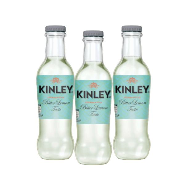 Kinley Bitter Lemon Taste (20 cl) 3 pezzi