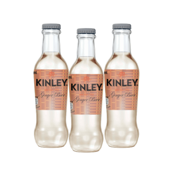 Kinley Ginger Beer Taste (20 cl) 3 pezzi