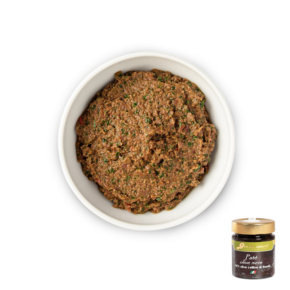Patè di Olive Nere (130 g)