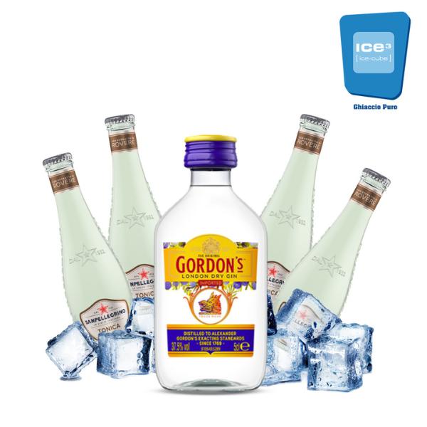 Gordon's - Gin Tonic Kit - per 4 persone