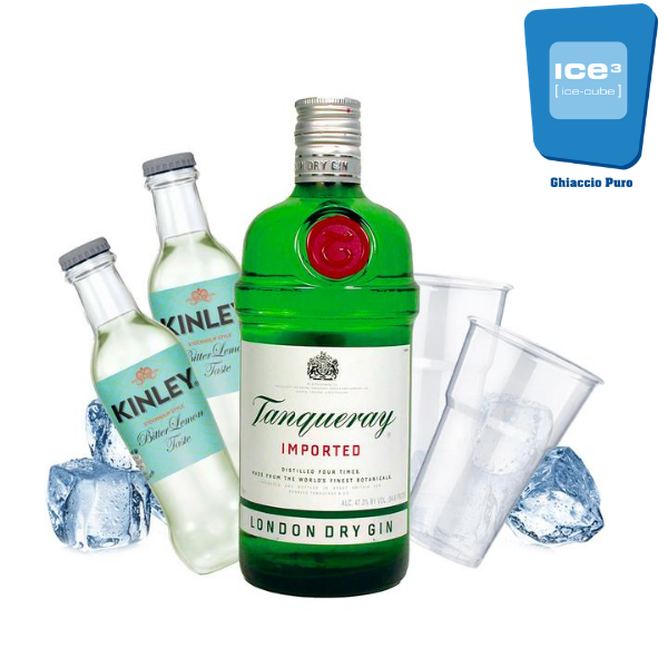 Tanqueray - Gin Lemon Kit - per 10 persone