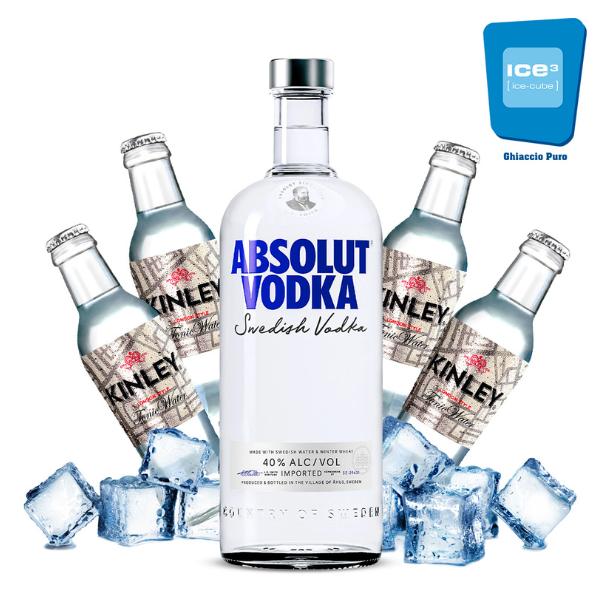 Absolut - Vodka Tonic Kit - per 10 persone
