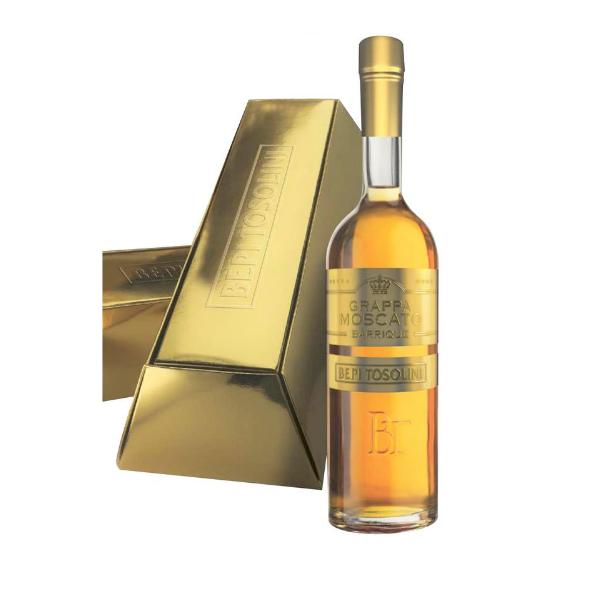 Grappa Bepi Tosolini Moscato Barrique Gold (Astucciato)