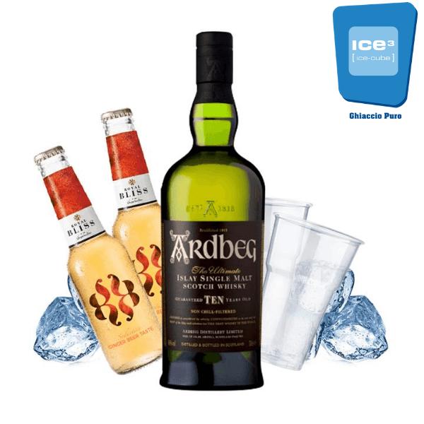 Ardbeg Whisky e Ginger Beer Kit - per 10 persone