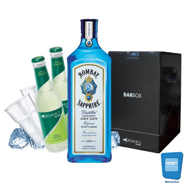 Barbox - Bombay Gin Lemon Kit - per 10 persone