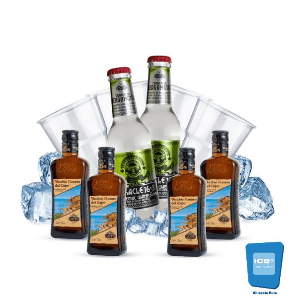 Capo Tonic Cocktail Kit - per 4 persone