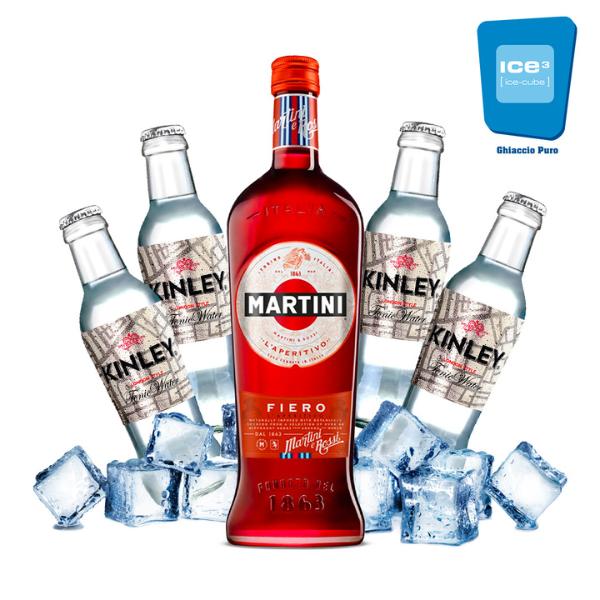 Martini Fiero e Tonic Kit - per 10 persone