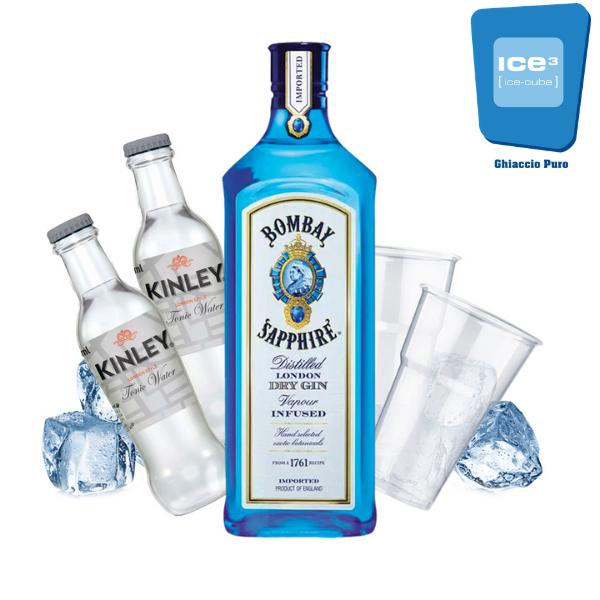 London Sparkling - Bombay Gin Tonic Kit - per 10 persone