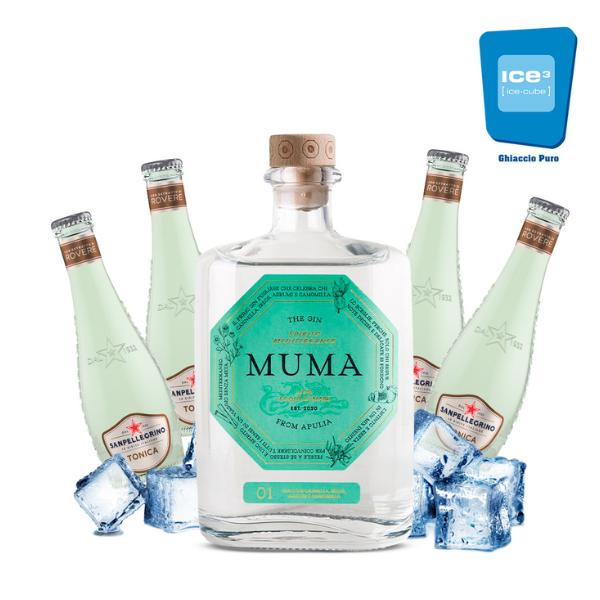 Muma Gin Tonic Kit - per 10 persone