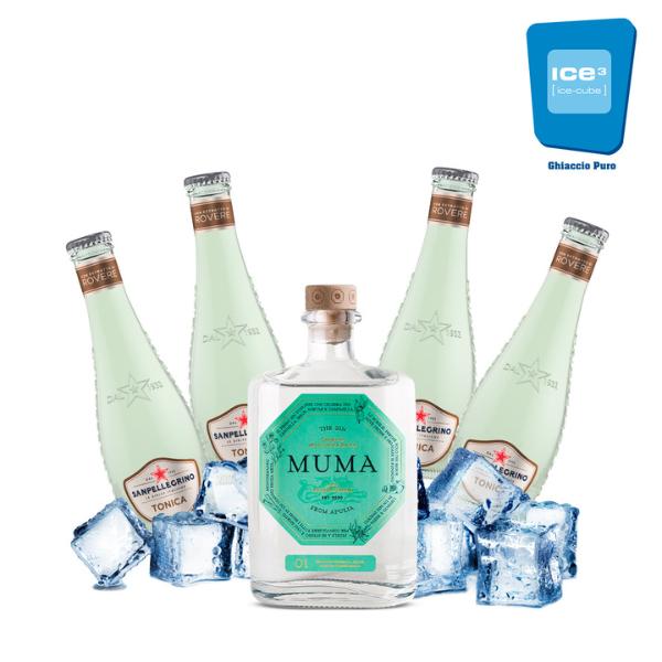Muma Gin Tonic Kit - per 4 persone