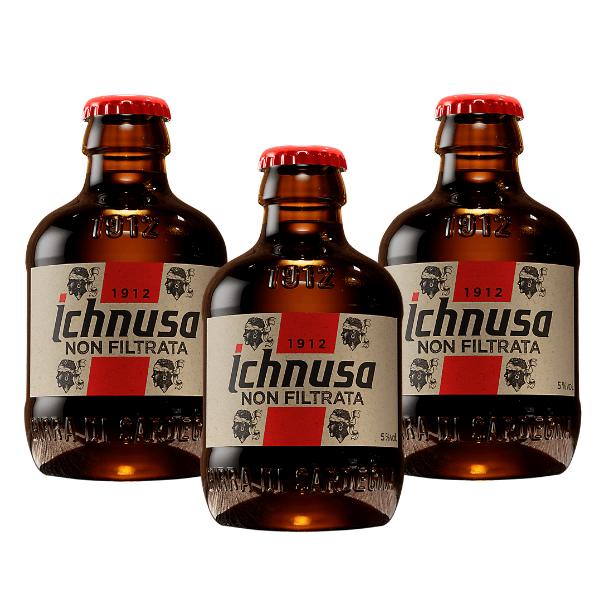 Ichnusa non filtrata (20 cl) 3 pezzi