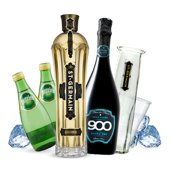 St-Germain - Hugo Cocktail Kit con Caraffa - per 8 persone