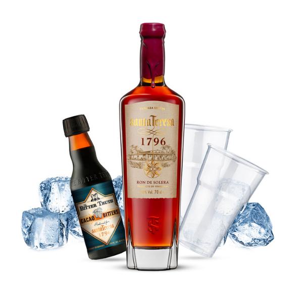 Santa Teresa Old Fashioned Cocktail Kit - per 10 persone