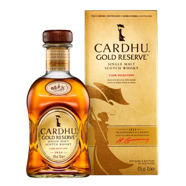 Cardhu Single Malt Scotch Whisky Gold Reserve (70 cl)
