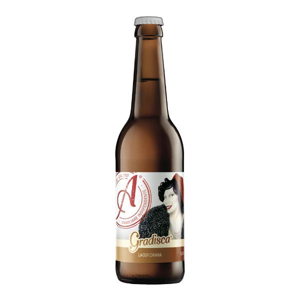 Gradisca Lager (33 cl)