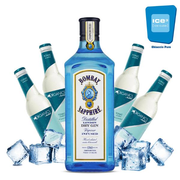 Bombay Gin Tonic Kit - per 10 persone