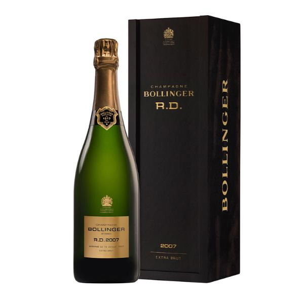 Champagne AOC Extra Brut R.D. 2007 con Astuccio Deluxe