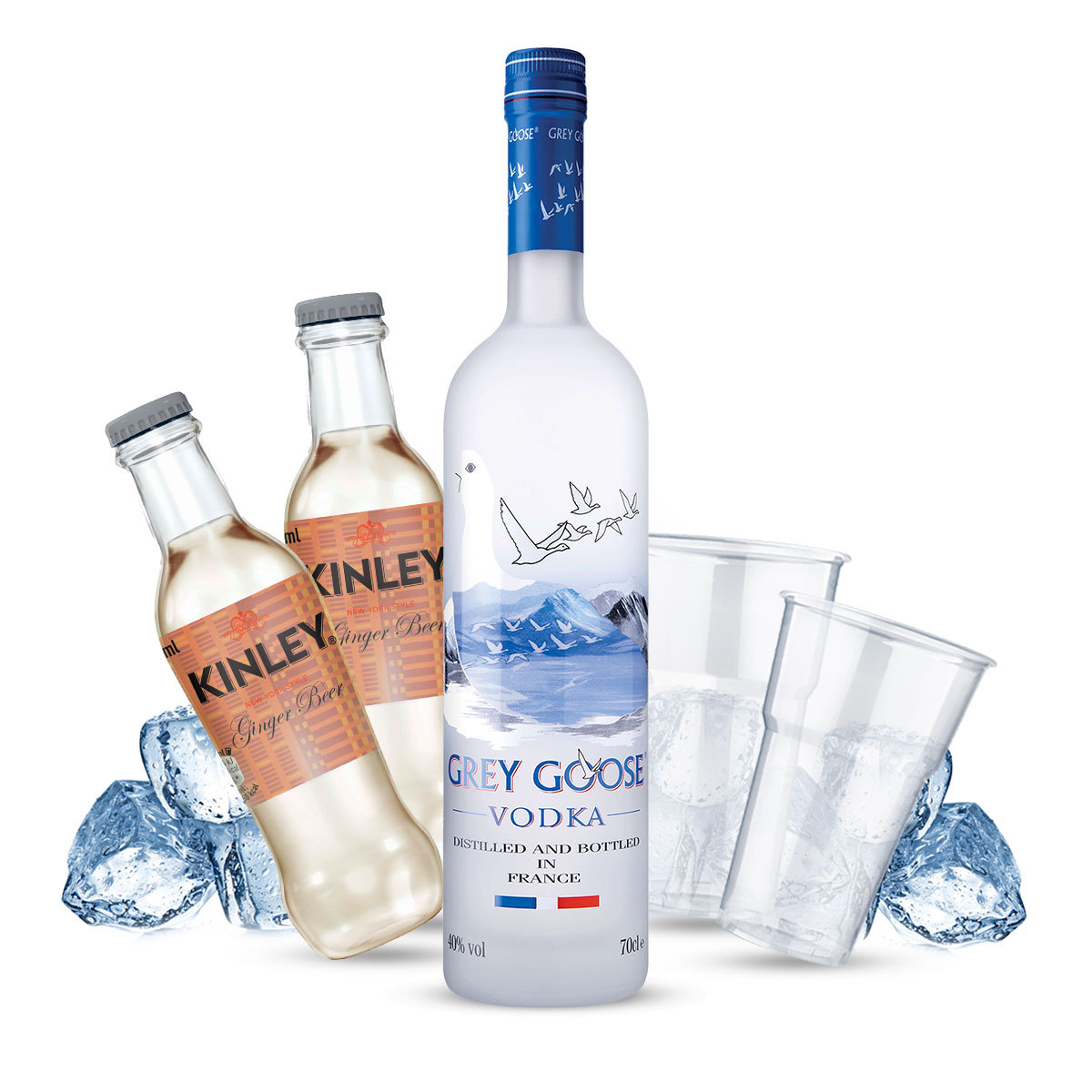 Grey Goose - French Mule Cocktail Kit - per 10 persone