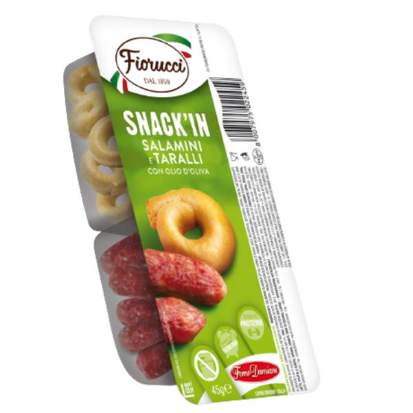 Snack'In Combo - Salamini e Taralli Con Olio D'Oliva (45 g)