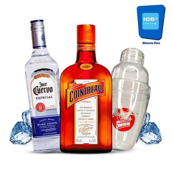 Cointreau - Margarita Cocktail Kit - per 10 persone con Shaker in Omaggio!