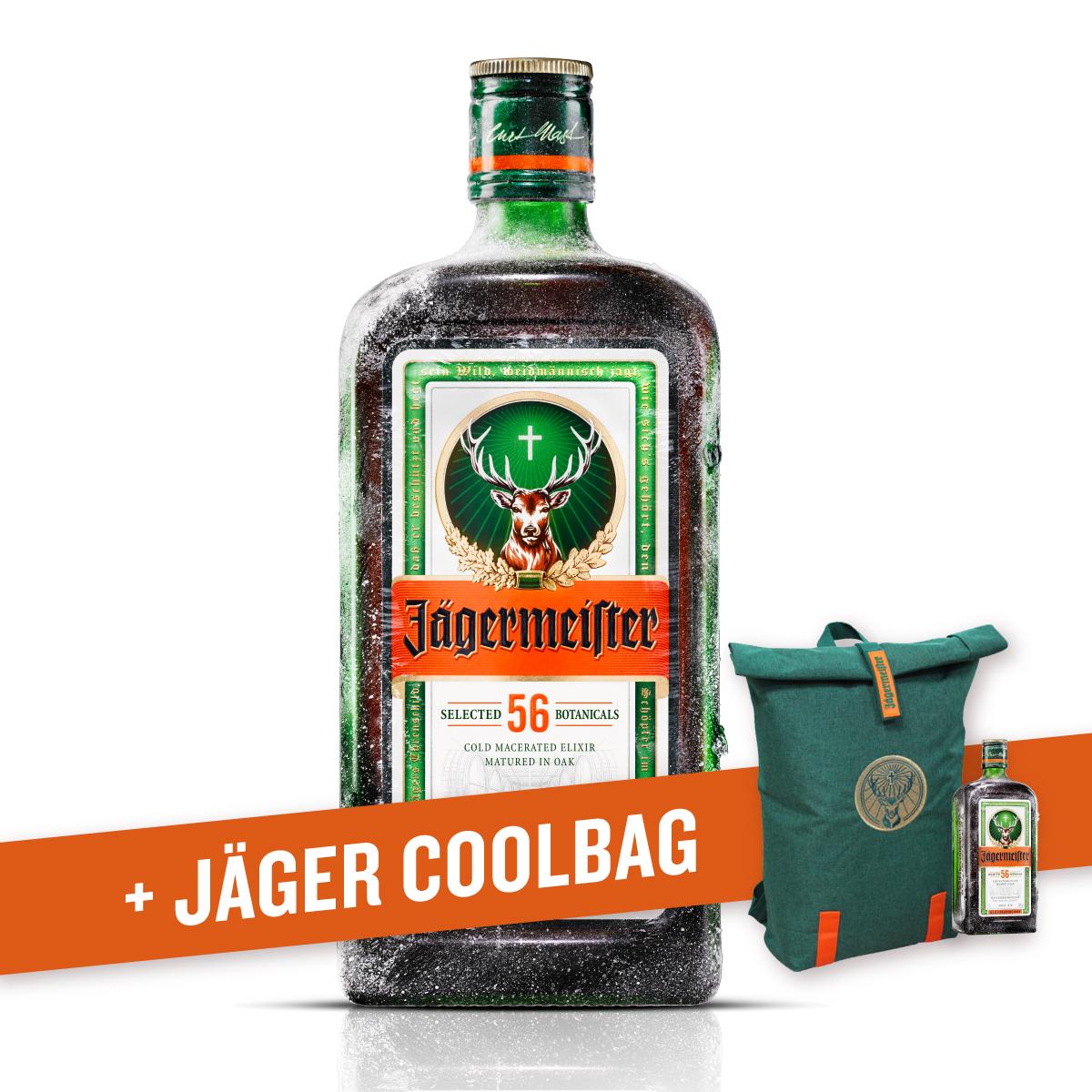 Amaro Jägermeister (70 cl) con Coolbag!