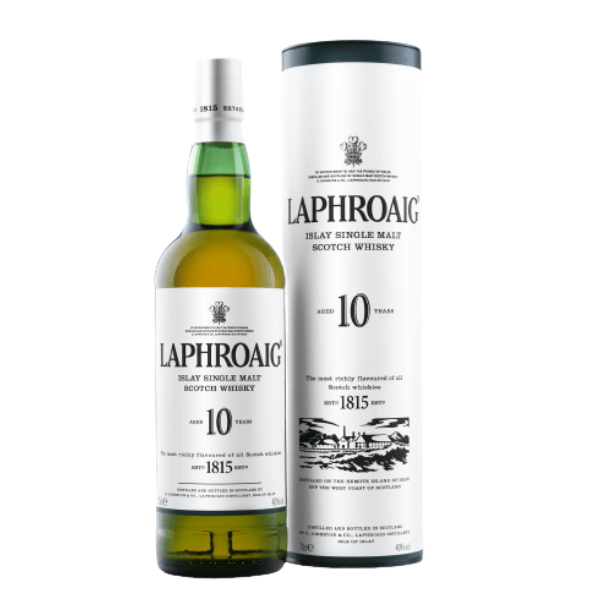 Scotch Whisky Laphroiag 10 Years (70 cl)