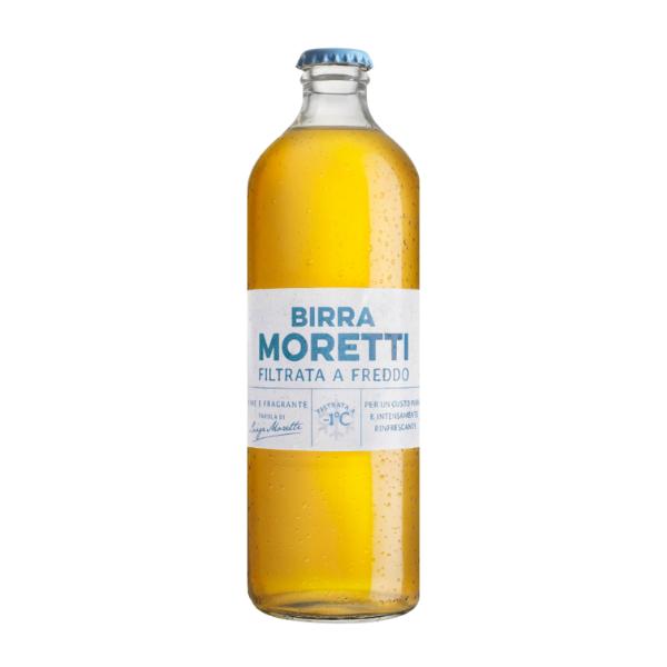 Birra Moretti Filtrata a Freddo (55 cl)