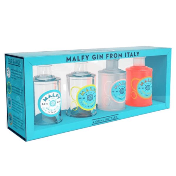 Gin Malfy Mini Set (4 pezzi 5 cl)