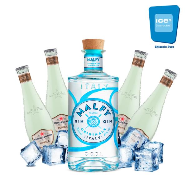 Malfy Originale - Gin Tonic Kit - per 10 persone