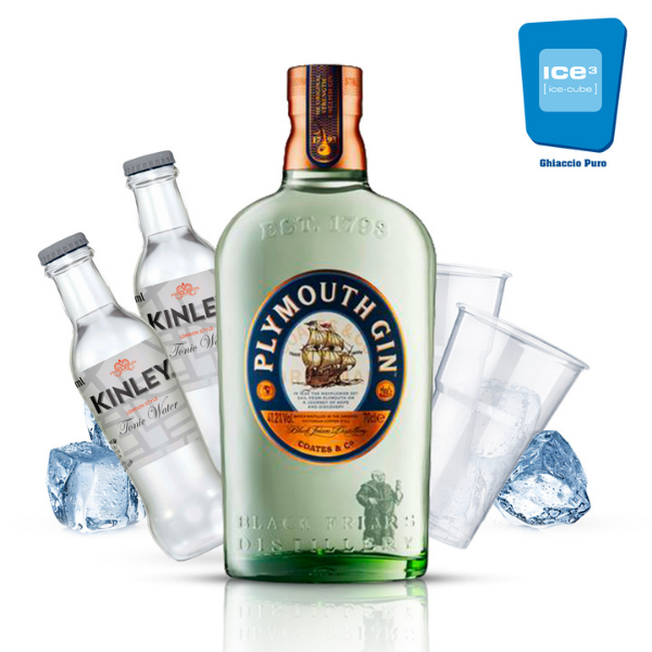 Classic Gin & Tonic Cocktail Kit - per 10 persone