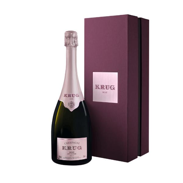 Champagne AOC Grand Cuvée 25eme Édition Brut Rosé (Coffret)